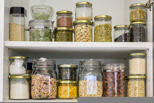Pantry, In Stock, Glasses, Container, Vegan, Unzipped