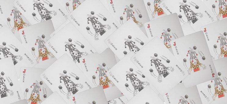 Playing Cards, Joker, Header, Background, Template