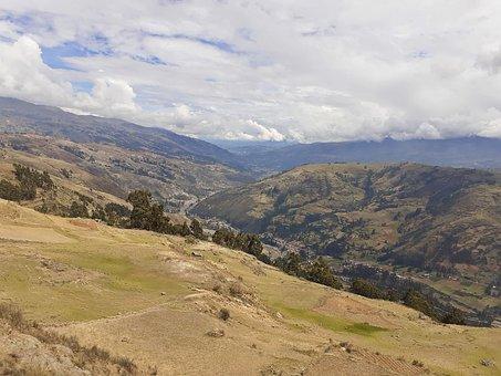Nature, Peru, Andes, Landscape, Mountains, Clouds, Sky