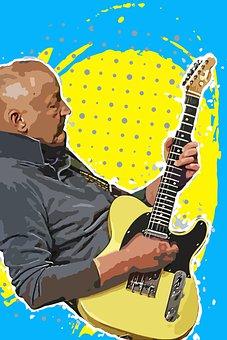 Musician, Man, Male, Guitar, Guitarist, Singer