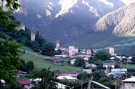Georgia, Svanetia, Caucasus, Mestia