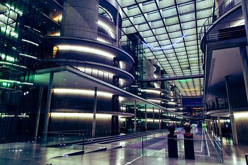 Building, Modern, Architecture, Light, City