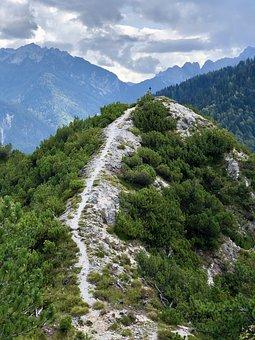 Away, Mountain, Mountains, Target, Landscape, Nature