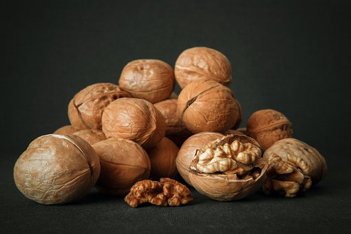 Walnut, Dry, Nuts, Walnuts, Food, Healthy, Nut