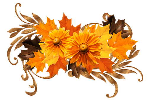 Flowers, Pattern, Ornament