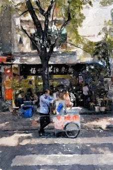 Paint, Painting, Artist, Creative, Canvas, Painter