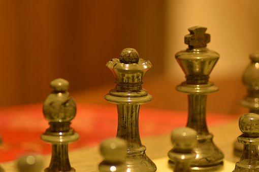 Games, Chess, Failure, Black, Queen, Crazy, King