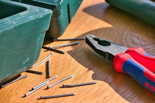 Pliers, Nails, Repair, Nail Puller, Craftsmen, Tools