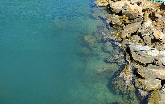 Sea, Rocks, Stones, Costa, Summer, Ocean, Rock, Water
