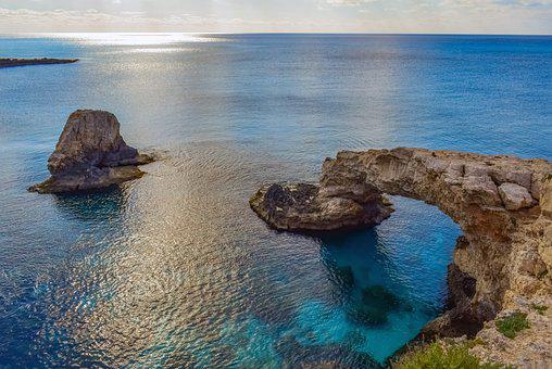 Coast, Sea, Ocean, Horizon, Seascape, Rock Formations