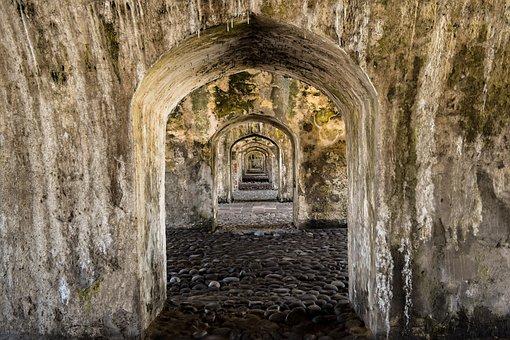 Pasillo, Arco, Corredor, Arquitectura, Túnel