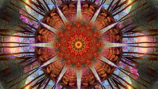 Wallpaper, Mandala, Psychedelic, Art, Creative, Artwork