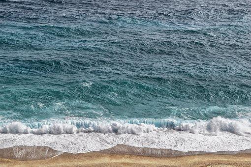 Sea, Waves, Sand, Beach, Costa