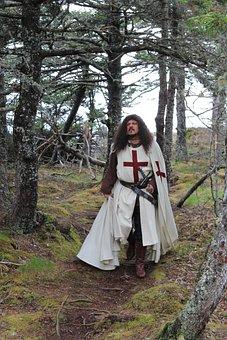 Templar, Knight, Medieval, Armor, Sword, Warrior