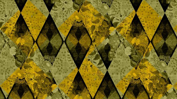 Rhombus, Pattern, Background, Abstract, Traditional