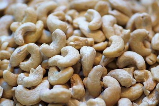 Cashews, Fruits, Foodstuffs, Organic, Natural, Snack