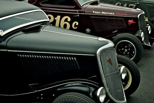 Ford, 1934, Cabriolet, Chevy, Chevrolet, Speedster