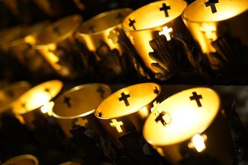 Candles, Church, Prayer, Light, Candlelight, Faith