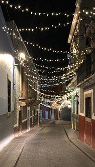 Guanajuato, City, Mexico, Tourism, Street, Cityscape