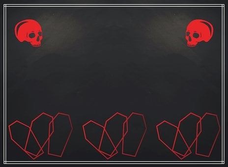 Funeral, Sign, Death, Template, Symbol, Halloween