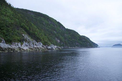 Sea, Coast, Hill, Coastline, Seaside, Fjord, Fiord