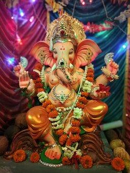 Ganesh, God, Ganpati, Hindu, Festival, Indian Festival