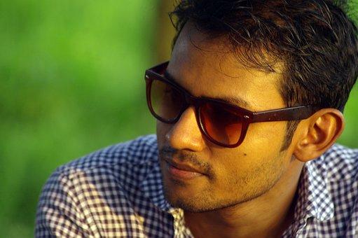 Man, Face, Bangladesh, Sunglasses, Glasses, Eyewear