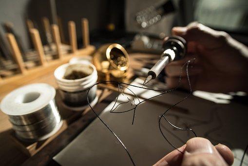 Wire Sculpture, Wire, Craft, Handmade, Handicraft