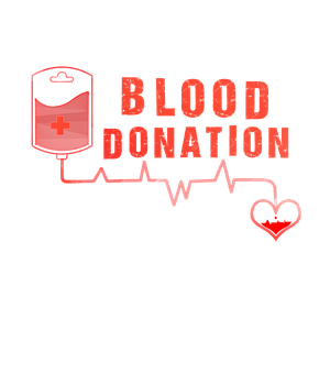 Blood Donation, Heart, Ecg, Nurse Vector