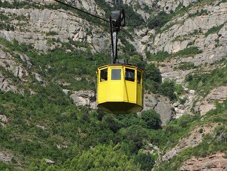 Montserrat Monastery, Montserrat, Hills