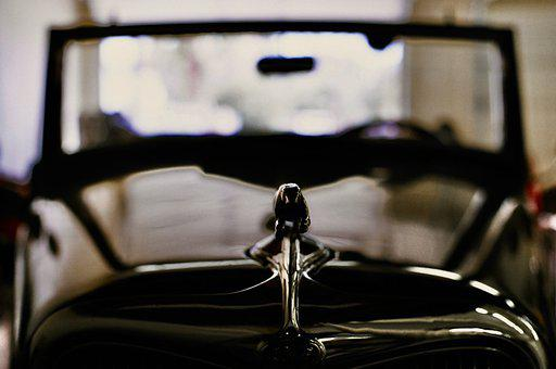 Ford, 1934, Hood Ornament, Cabriolet, Antique, Roadster
