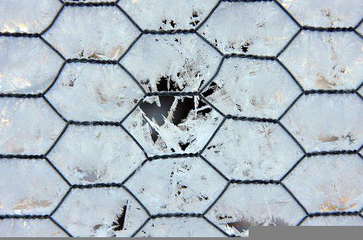 Fence, Hoarfrost, Winter, Snow, Cold, Ice, White