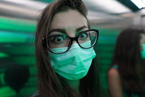Woman, Mask, Virus, Coronavirus, Pandemic, Covid-19