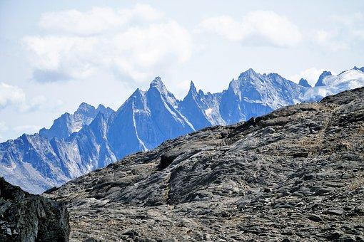 Mountains, Nature, Landscape, Sky, Clouds, Alpine