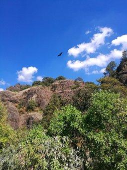 Morelos, Tepoztlán, Mexico, Hills, Mountains, Sky