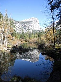 Mountains, Yosemite, Landscape, Mountain, Wilderness