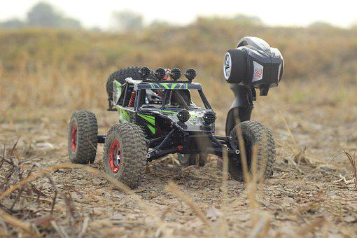 Off-road Vehicle, Toy, Field, Radio Controlled Car