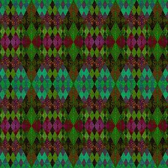 Rhomboid, Pattern, Background, Rhombus, Dramatic