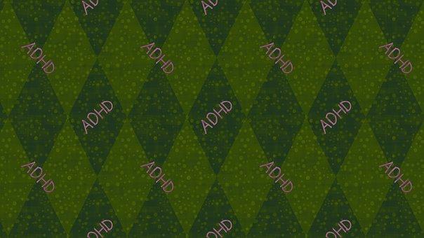 Rhomboid, Adhd, Background, Pattern, Psychology