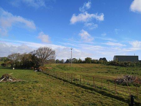 Farmland, Pastures, Countryside, Rural