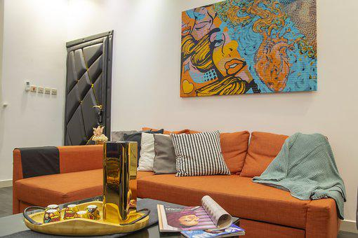 Mahrous, Houses, Living Room, Sofa, Home, Room