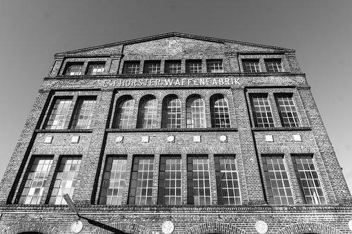 Solihull, Arms Factory, Building, Old, Architecture