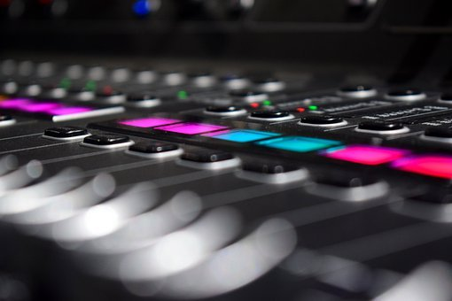 Audio Console, Music, Volume, Sound, Audio, Digital