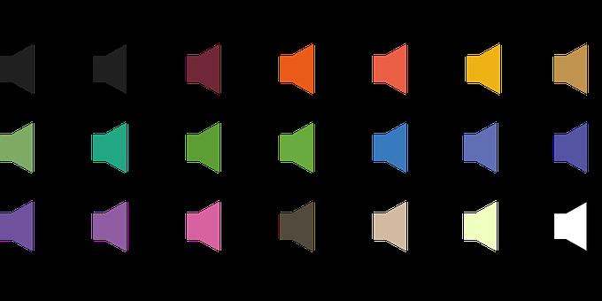 Speaker, Icon, Megaphone, Audio, Design