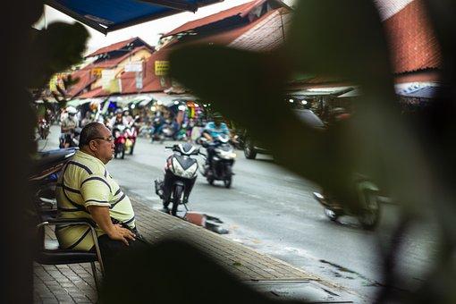 Urban, Street, House, Tourism, City, Day, Road