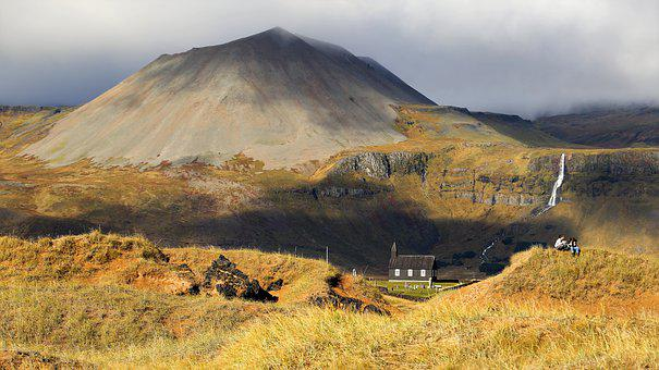 The Nature Of The, Iceland, Mountain, Outdoors