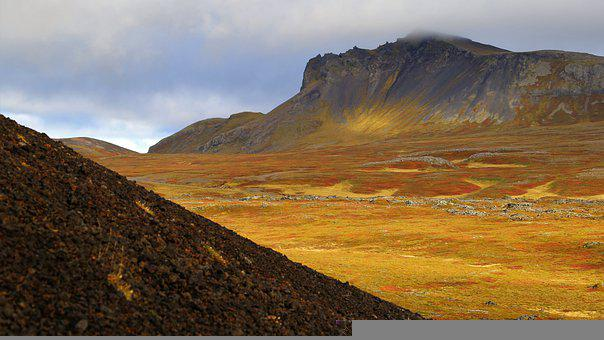 The Nature Of The, Iceland, Landscape, Mountain