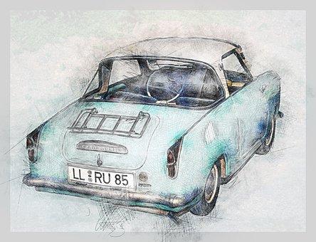 Car, Transport, Vehicle, Old Car, Goggomobil, Classic
