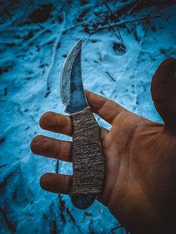 Knife, Rusty, Hand, Weapon, Blade, Sharp, Tool