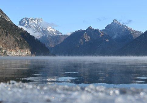 Lake, Mountains, Mountain Ranges, Alps, Alpine